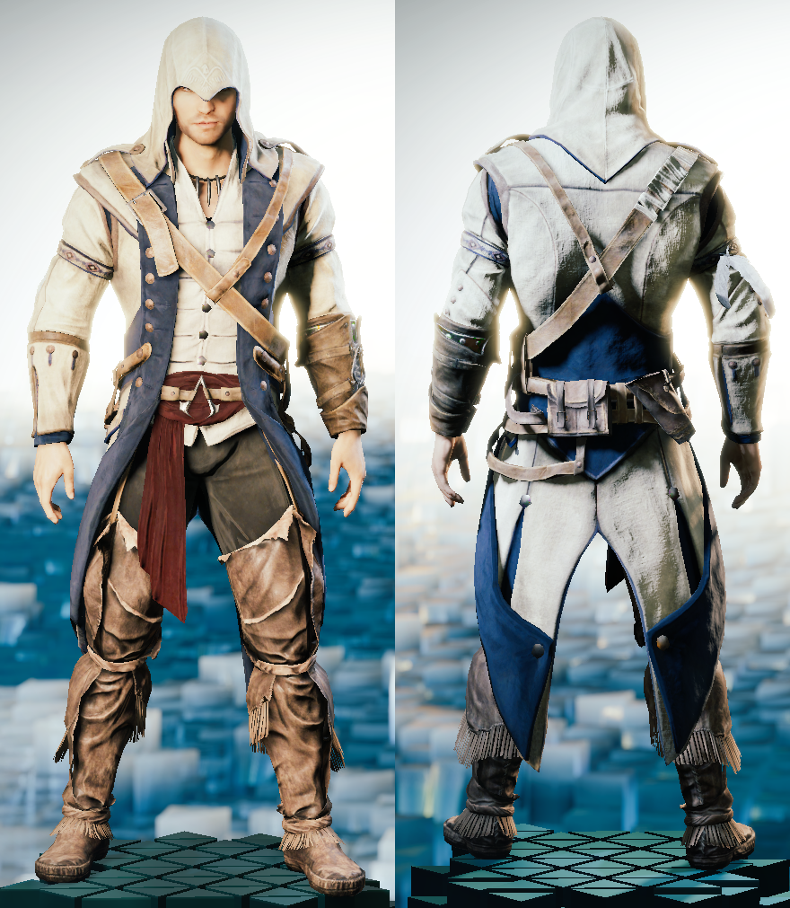 A Minor Complaint About Connor S Legacy Outfit Assassinscreed