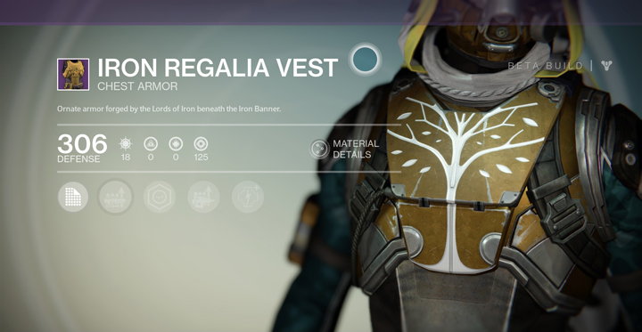 Iron regalia vest destinypedia the destiny wiki destiny bungie