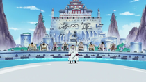 Whitebeard Arrives at Marineford