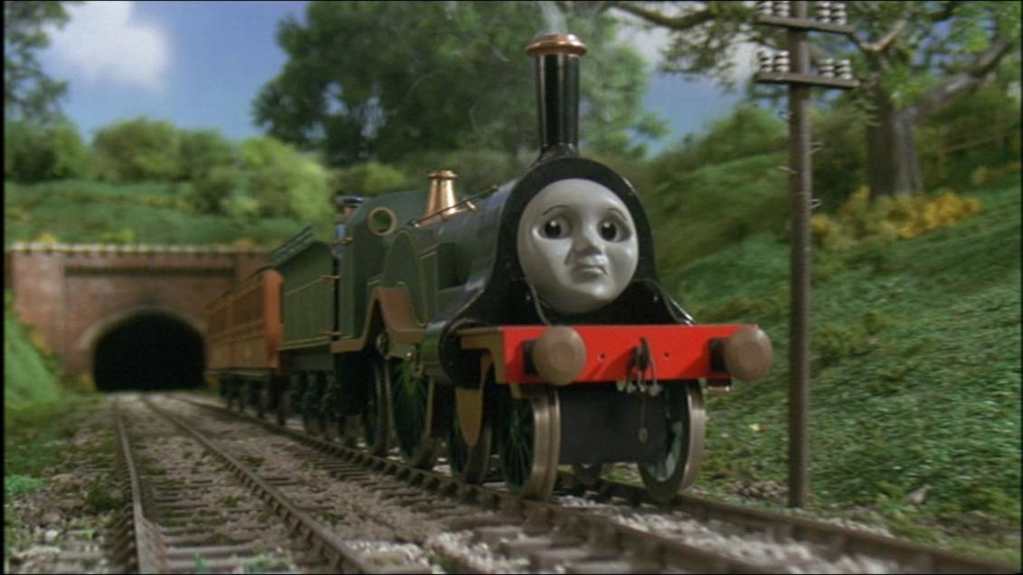 TV版第7シーズンのエミリーの機関士