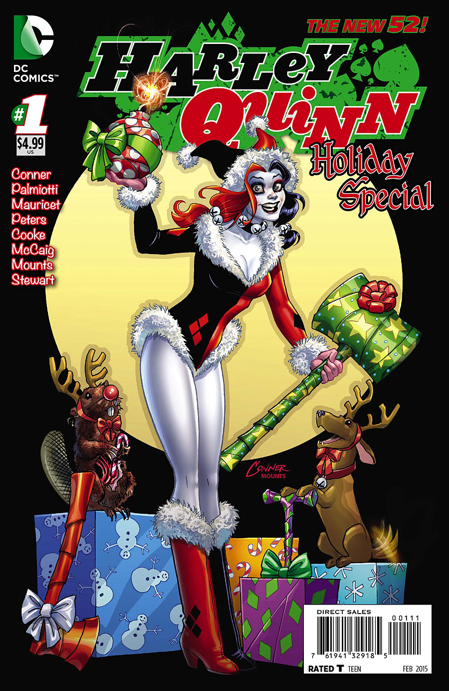 Harley Quinn Holiday Special Vol 1 1 Dc Comics Database