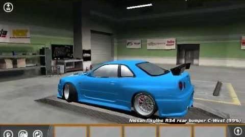 Street Legal Racing Redline LE2MWM Skyline R34 Build-0