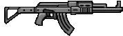 Armas/Weapons AssaultRifle-GTAVe-HUD