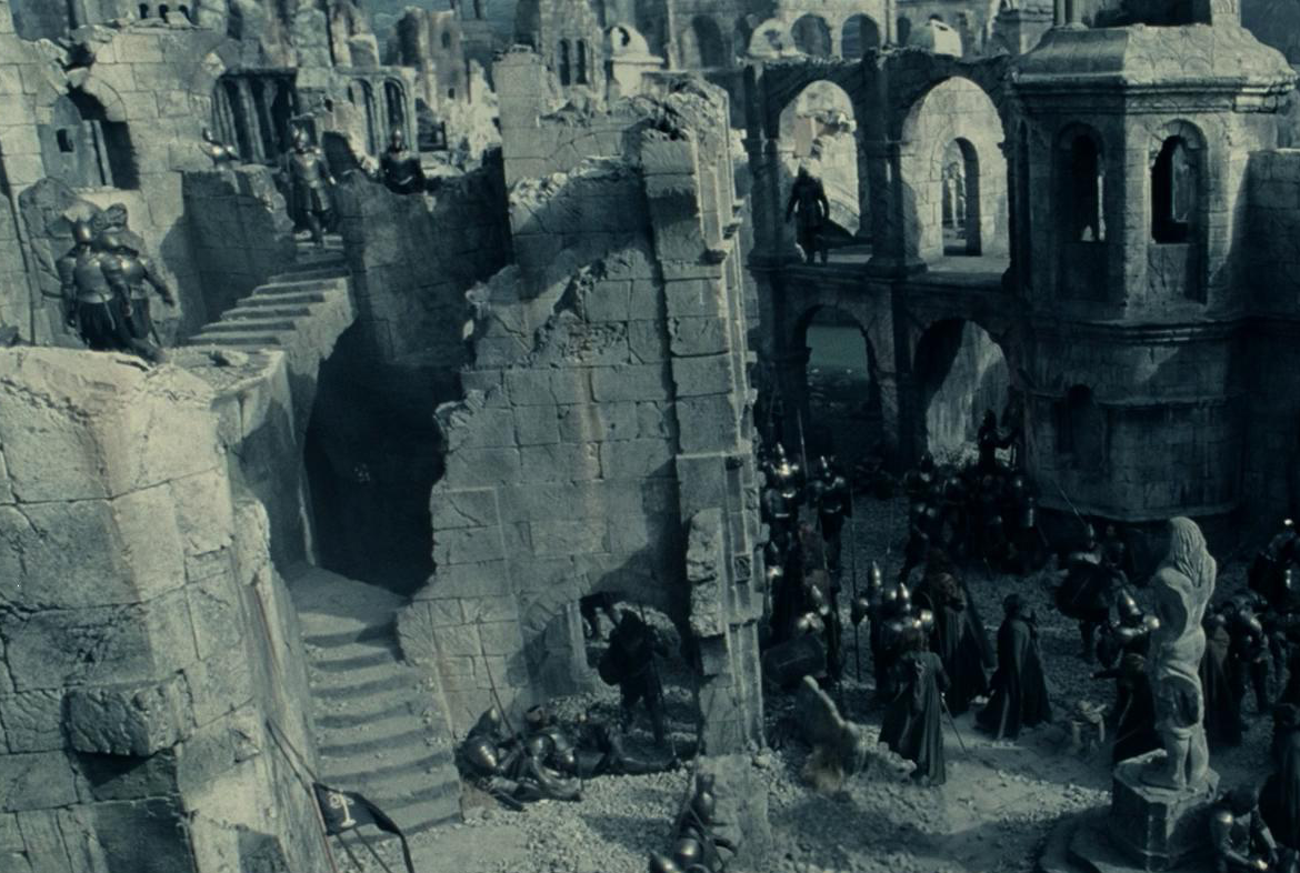Lord Of The Rings Osgiliath