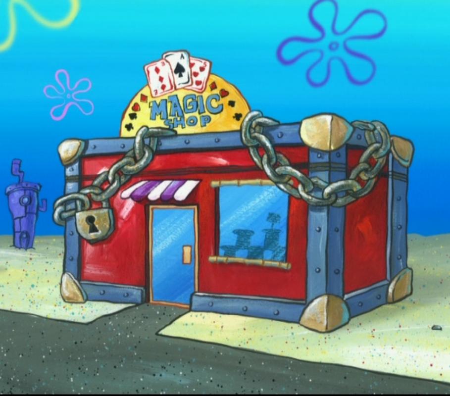 Glove world spongebob lego