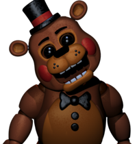Toy freddy toy freddy is encountered on night 4 with his legs being