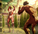 Titan Furtif vs Titan Féminin (combat 2)