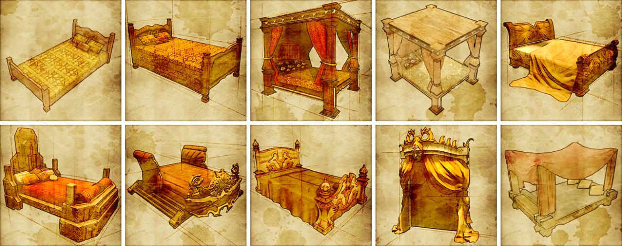 Эволюция кроватей
