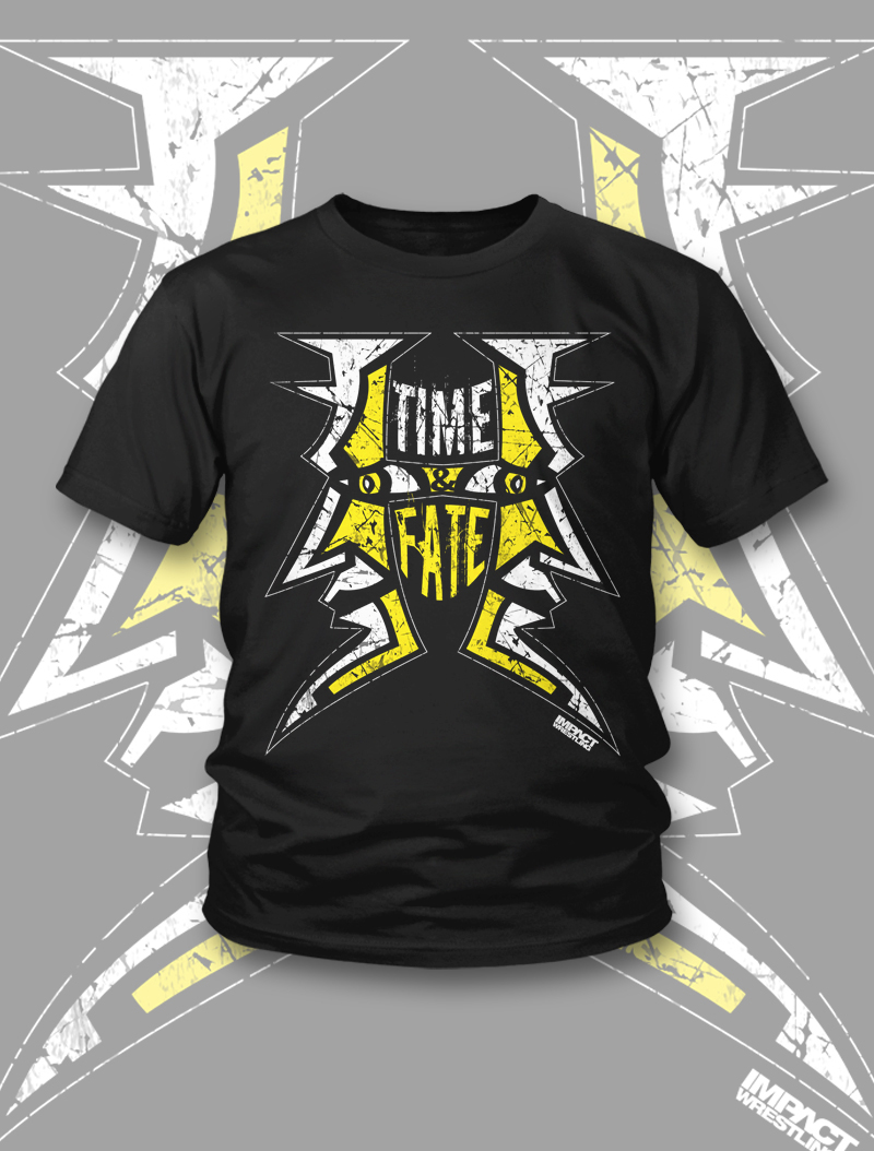 Jeff Hardy Shirts Jeff Hardy Time Fate T-shirt