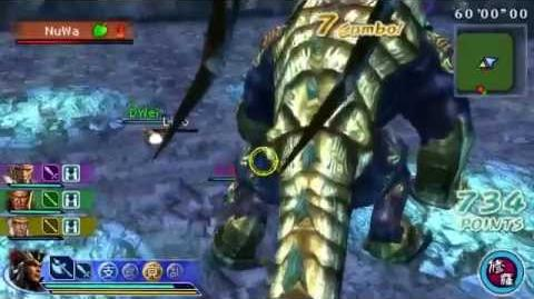 Dynasty Warriors Strikeforce 2 HD - Shi Huangdi Monster Form Playable
