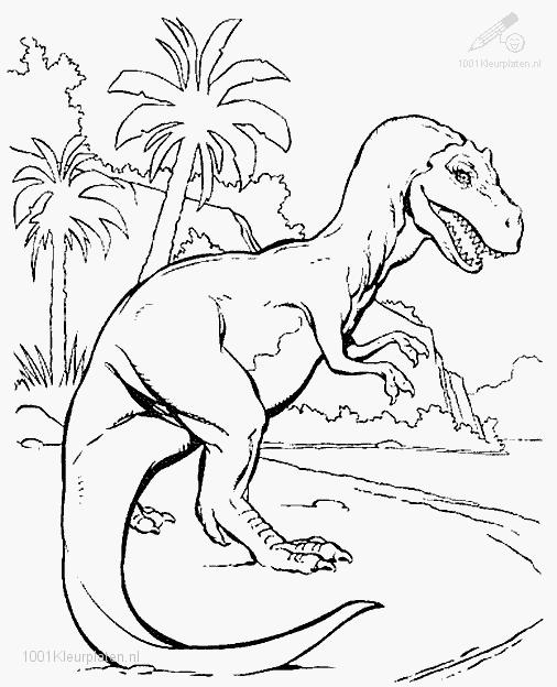jurassic park coloring pages for free   Image - Jurassic park coloring page 1.jpg - Park Pedia ...