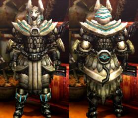 Helios X Armor / Selene X Armor (Blademaster) (MH4U ...