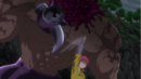 Gowther beheading the Armor Giant.png