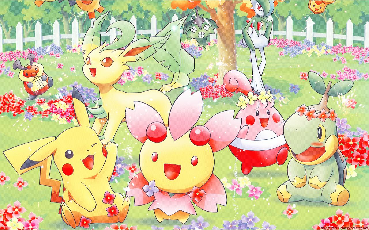 Image Photos Pokemon Cute Minitokyo Pok Mon Spring