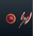 MH4U-Relic Sword and Shield 007 Render 001.png