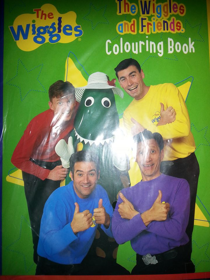 the wiggles coloring book pages photo12 - Wiggles Pictures To Print