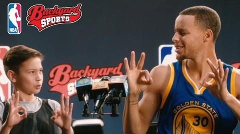 Backyard Sports Stephen Curry NBA TV commercial