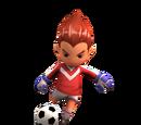 Midfielder David