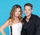 Adam Newman and Chelsea Lawson