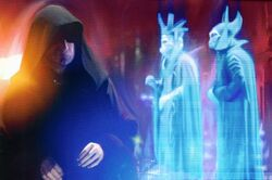 Sidious with his servants
