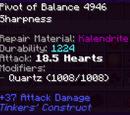 Pivot of Balance