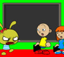 Caillou gets grounded series