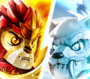 LEGO Legends of Chima: Plemienni wojownicy