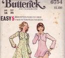 Butterick 6754 A