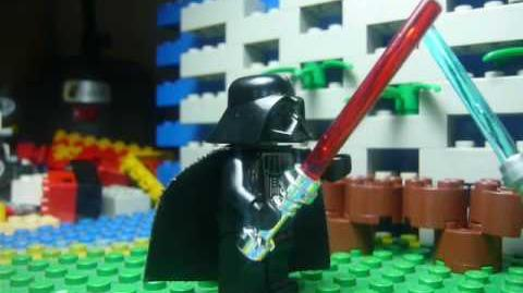 LEGO Starwars jedi battle