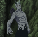 Hendrickson after taking Gray Demon's blood.png