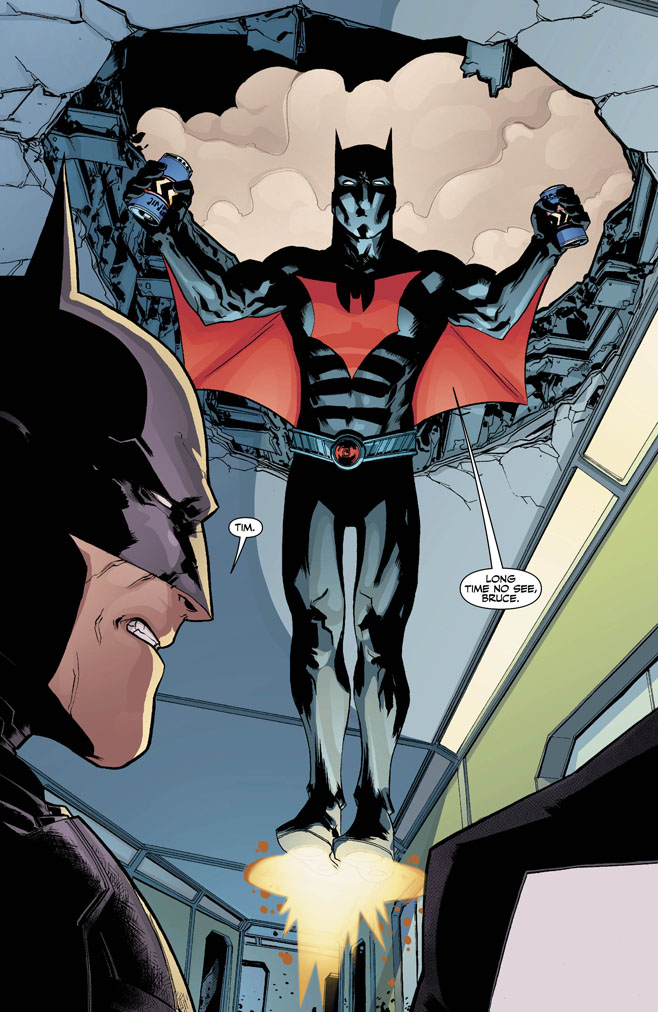 Tim Drake Futures End 0001Tim Drake Batman Beyond