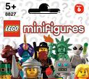 8827 Minifigures Série 6