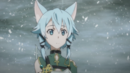Sinon after retrieving Excalibur.png