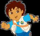 Go Diego Go kaleidoscope