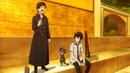 Yukio, Kuro, and Rin sharing catnip wine.png