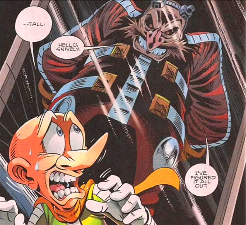Doctor Eggman Pre Super Genesis Wave Sonic News