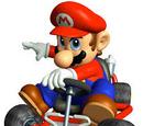 Mario Kart 64 racers