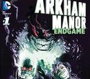 Arkham Manor: Endgame Vol 1 1