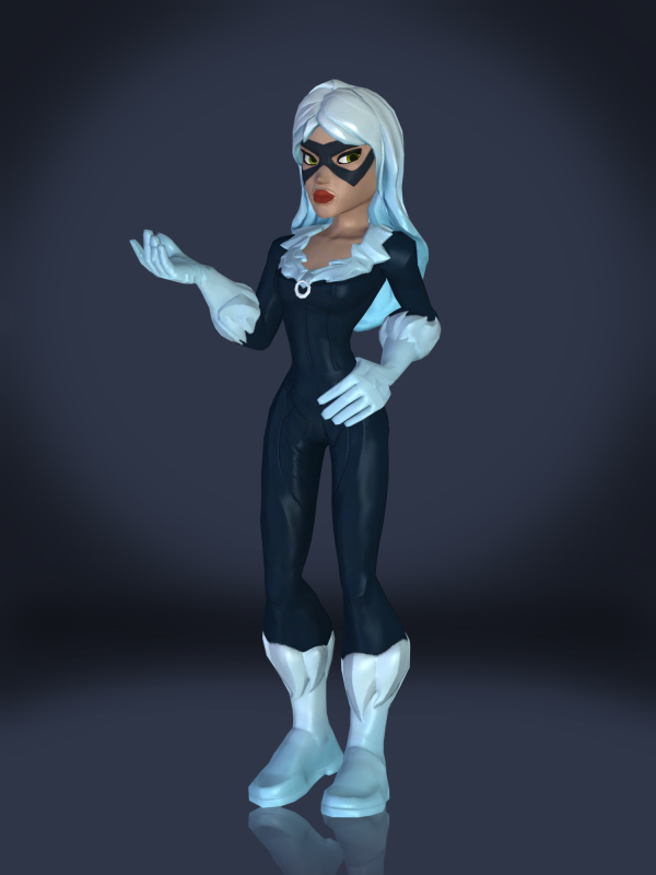 Marvel Black Widow Cat Tf