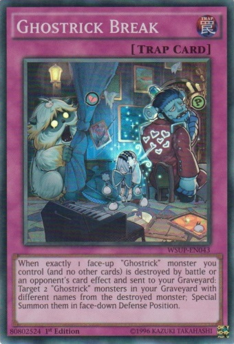 Ghostrick Break Yu Gi Oh It S Time To Duel