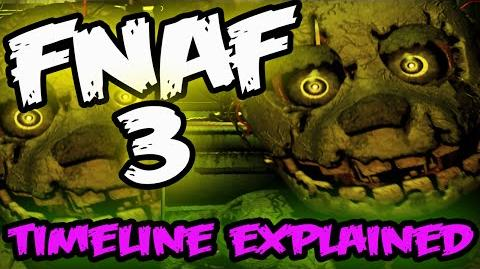 FNAF 3 TIMELINE EXPLAINED Five Nights at Freddy's 3 Timeline Explained FNAF 3 Game Theory-0