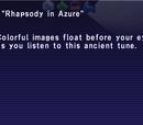 Rhapsody in Azure