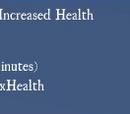 Increased Health