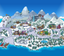 Club Penguin Island (location)