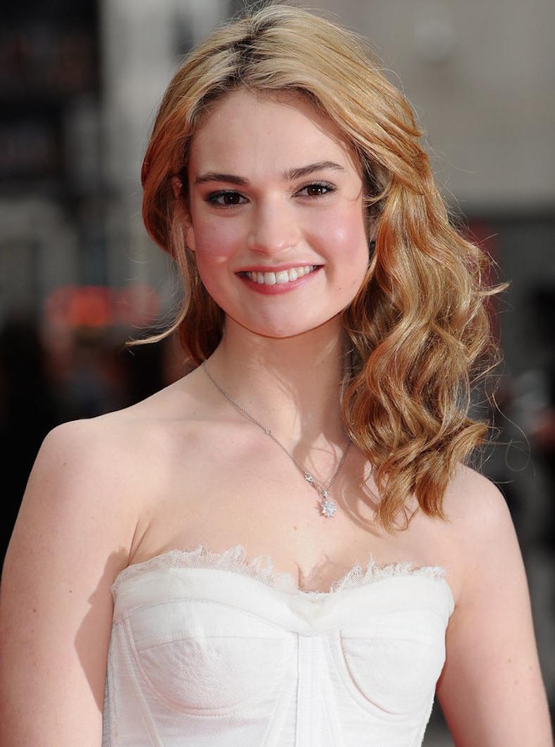 Lily James Disney Wiki