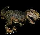 Tyranozaur - skórka Lime