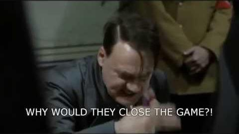 Hitler Finds Out that Monkey quest was closed