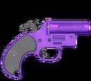 Pistolet sygnałowy - skórka Purple