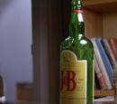J&B Scotch whiskey