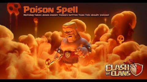 Clash of Clans - New Update! Dark Spell Factory Poison Spell Gameplay (Sneak Peek)